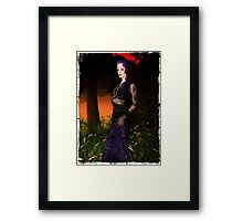 Vamp Glamour Framed Print