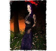 Vamp Glamour Photographic Print