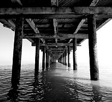 Under The Pier by SiBanthorpe