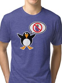 He's Not an Eggplant Tri-blend T-Shirt