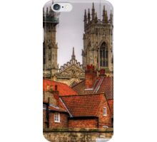 The rooftops of York iPhone Case/Skin
