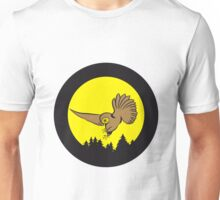 Hunt night owl bird Unisex T-Shirt