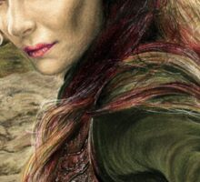 Tauriel Portrait- The Hobbit, Desolation of Smaug Sticker