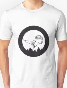 Hunt night owl bird Unisex T-Shirt