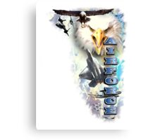 U.S. Air Force Tribute Canvas Print