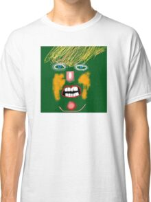 Green Donald Trump, by Roger Pickar, Goofy America Classic T-Shirt