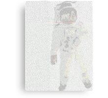 Apollo 11 Transcript Canvas Print