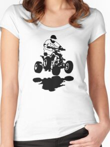 Quad Racer Women's Fitted Scoop T-Shirt