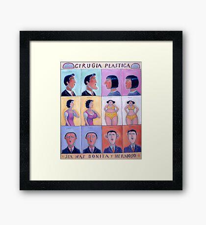 Cirgica Plastica (Plastic Surgery) Framed Print