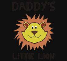Daddy's little lion One Piece - Long Sleeve