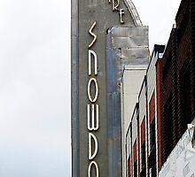 Snowdon Theatre Marquee © by Ethna Gillespie