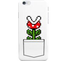 8-Bit Mario Pocket Piranha Plant iPhone Case/Skin
