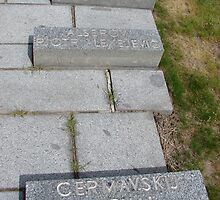 Russian Cemetery II. - fort Terezín (National Suffering Memorial)  by Natas