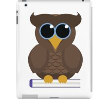 Owl Sitting on a Book iPad Case/Skin