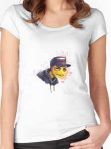 NFKRZ Women's Fitted Scoop T-Shirt