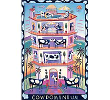 CowDominium Photographic Print