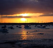 Mersea Sunset by backfocus