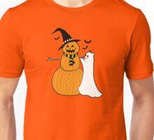 Pumpkin Snowman Unisex T-Shirt