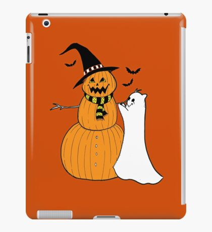 Pumpkin Snowman iPad Case/Skin