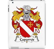 Caparros Coat of Arms/Family Crest iPad Case/Skin