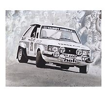Lotus Sunbeam Works Rally Car by sidfox