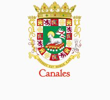 Canales Shield of Puerto Rico Unisex T-Shirt