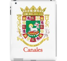 Canales Shield of Puerto Rico iPad Case/Skin