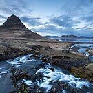 blue hour by JorunnSjofn Gudlaugsdottir