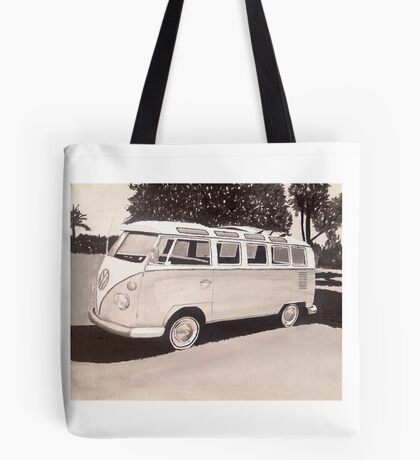 VW Type1 Bus Tote Bag