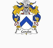 Canales Coat of Arms/Family Crest Unisex T-Shirt