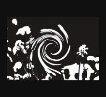 Muscari Swirl One Piece - Long Sleeve