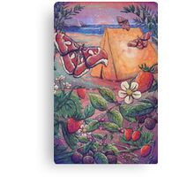 Goji Beach Canvas Print