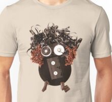 Analog Media Abstract Eco Art Silly Funny OMG LOL  Unisex T-Shirt