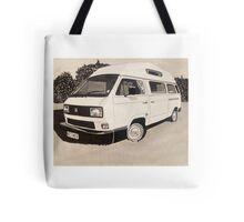 VW Type 3 Campervan Tote Bag