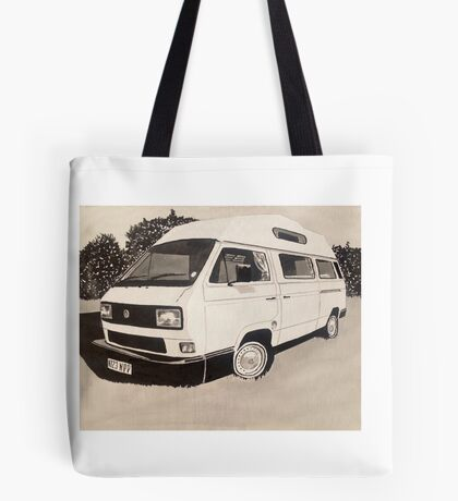 VW Type 3 Campervan Tote Bag