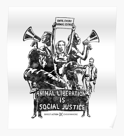 Liberation (black) Poster