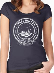 stars hollow Women's Fitted Scoop T-Shirt