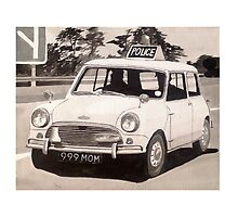 Mini Cooper S Police Car by sidfox