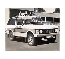 Range Rover Police Car by sidfox