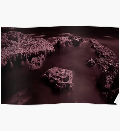 Infra Red - Ghostly Boulders Poster