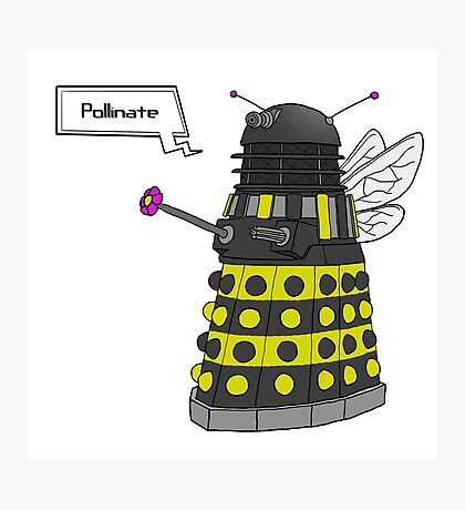 Bee Dalek  Photographic Print