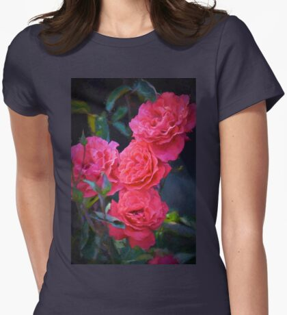 Rose 138 Womens Fitted T-Shirt