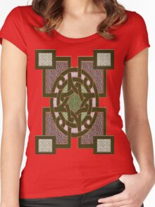 Symbols of the gods Women's Fitted Scoop T-Shirt