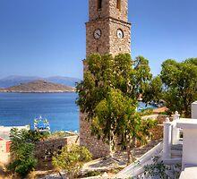 Stone Clock Tower by Tom Gomez