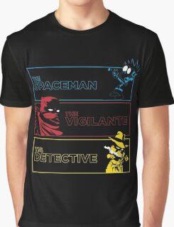 The Alternate Egos of Calvin Graphic T-Shirt