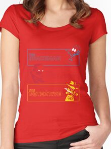 The Alternate Egos of Calvin Women's Fitted Scoop T-Shirt
