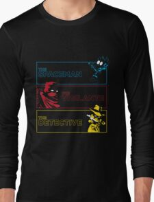 The Alternate Egos of Calvin Long Sleeve T-Shirt