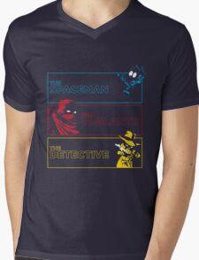 The Alternate Egos of Calvin Mens V-Neck T-Shirt