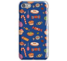 Candy & Bonbon (blue) iPhone Case/Skin