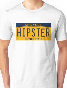 New York License Plate Unisex T-Shirt